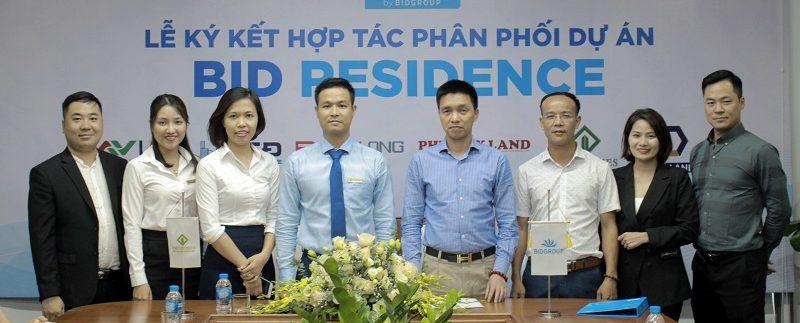Lễ ký kết hợp tác phân phối dự án BID Residence – Viethomes