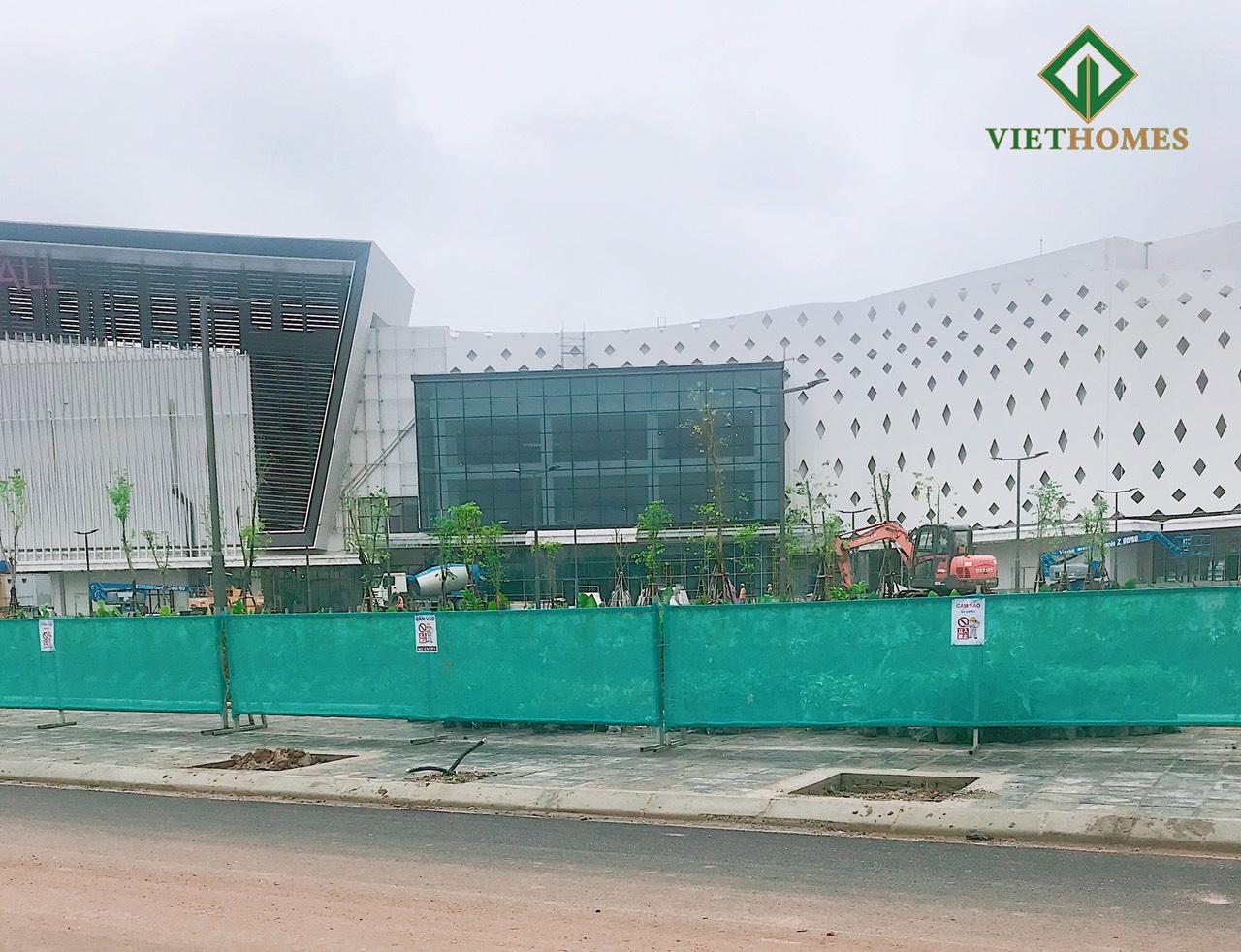 Aeon Mall Hà Đông dần hoàn thiện thúc đẩy tăng giá trị khu đô thị lân cận