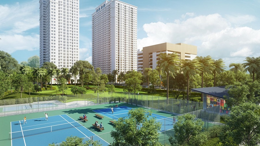 Vì sao dự án chung cư có mật độ xây dựng thấp vẫn luôn thu hút người mua?