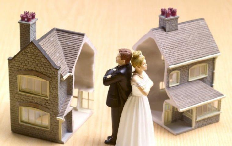 Vợ chồng ly hôn có thể chia căn chung cư chưa xây xong?