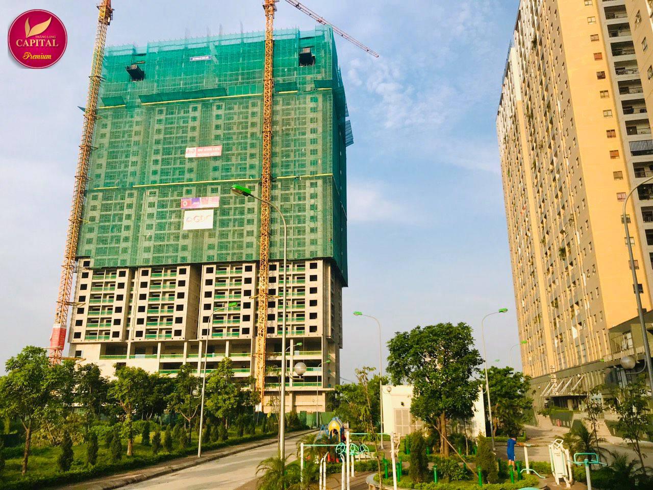 Cập nhật tiến độ dự án Thăng Long Capital Premium ngày 23/11/2019