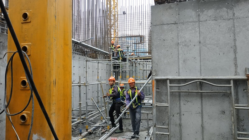 Cập nhật tiến độ dự án BID Residence ngày 29/11/2019