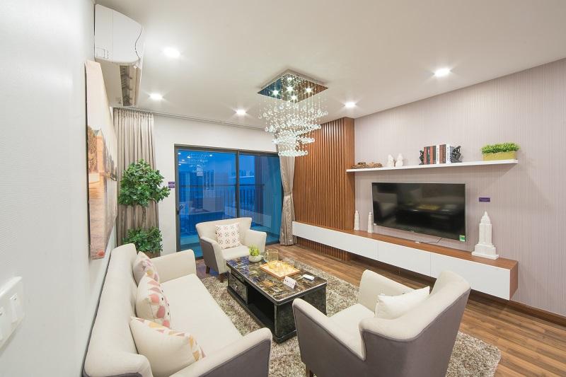 Căn hộ mẫu tòa Sapphire 2 dự án TNR Goldmark City: Thiết kế tinh tế cho chủ nhân xứng tầm