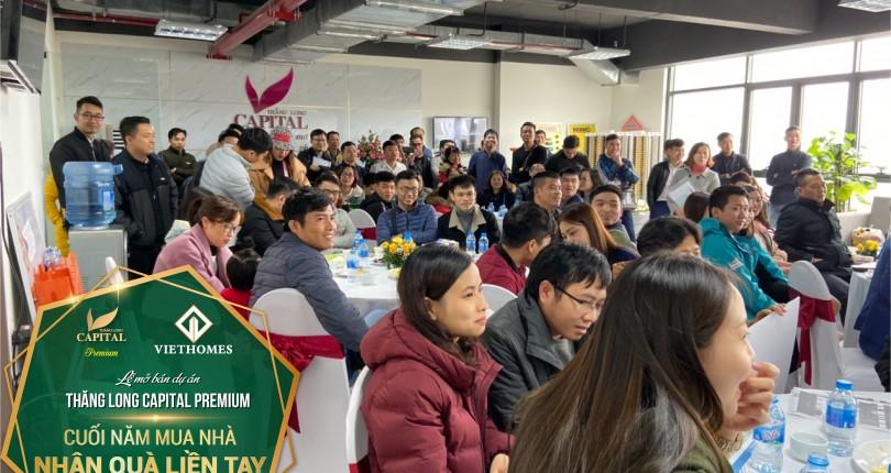 Sôi động lễ mở bán dự án Thăng Long Capital với hàng trăm khách hàng tham dự