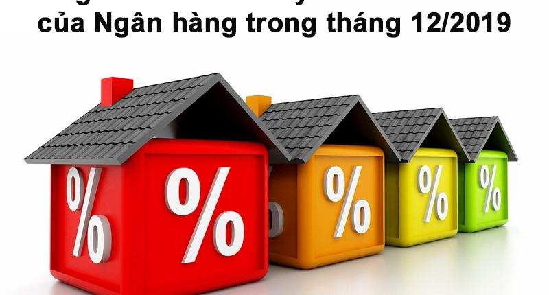 Bảng lãi suất cho vay ưu đãi mua nhà của Ngân hàng trong tháng 12/2019