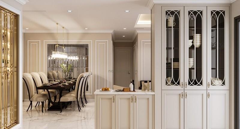 Thiết kế Nội thất tân cổ điển căn hộ Vinhomes Central Park