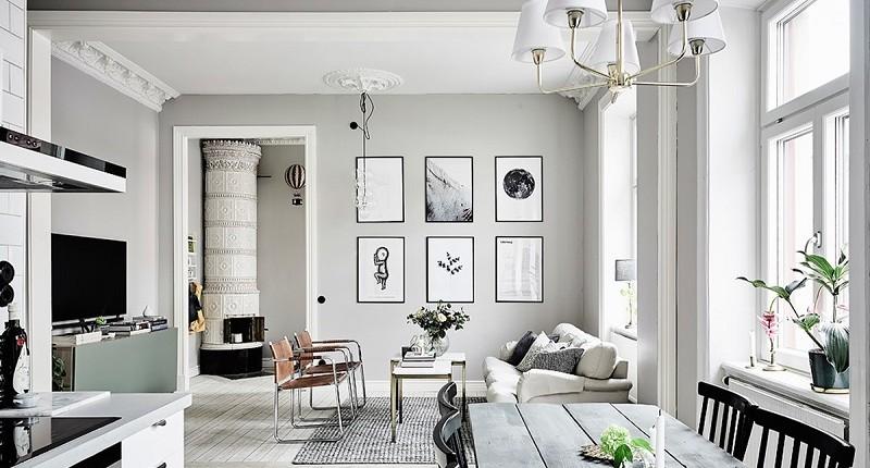 Xu hướng thiết kế phòng khách chung cư dự đoán lên ngôi năm 2020