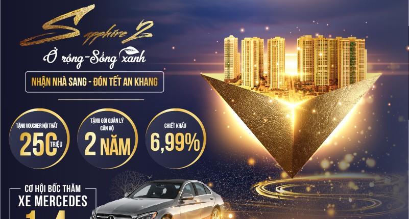 Sapphire 2 TNR Goldmark City: CĐT tung chính sách cực hấp dẫn khi mua nhà tháng 12/2019