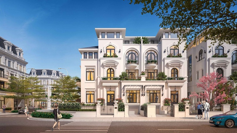 Lý do nên sở hữu biệt thự Louis City Hoàng Mai