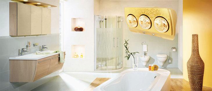 Hướng dẫn chọn mua đèn sưởi nhà tắm tốt nhất hiện nay