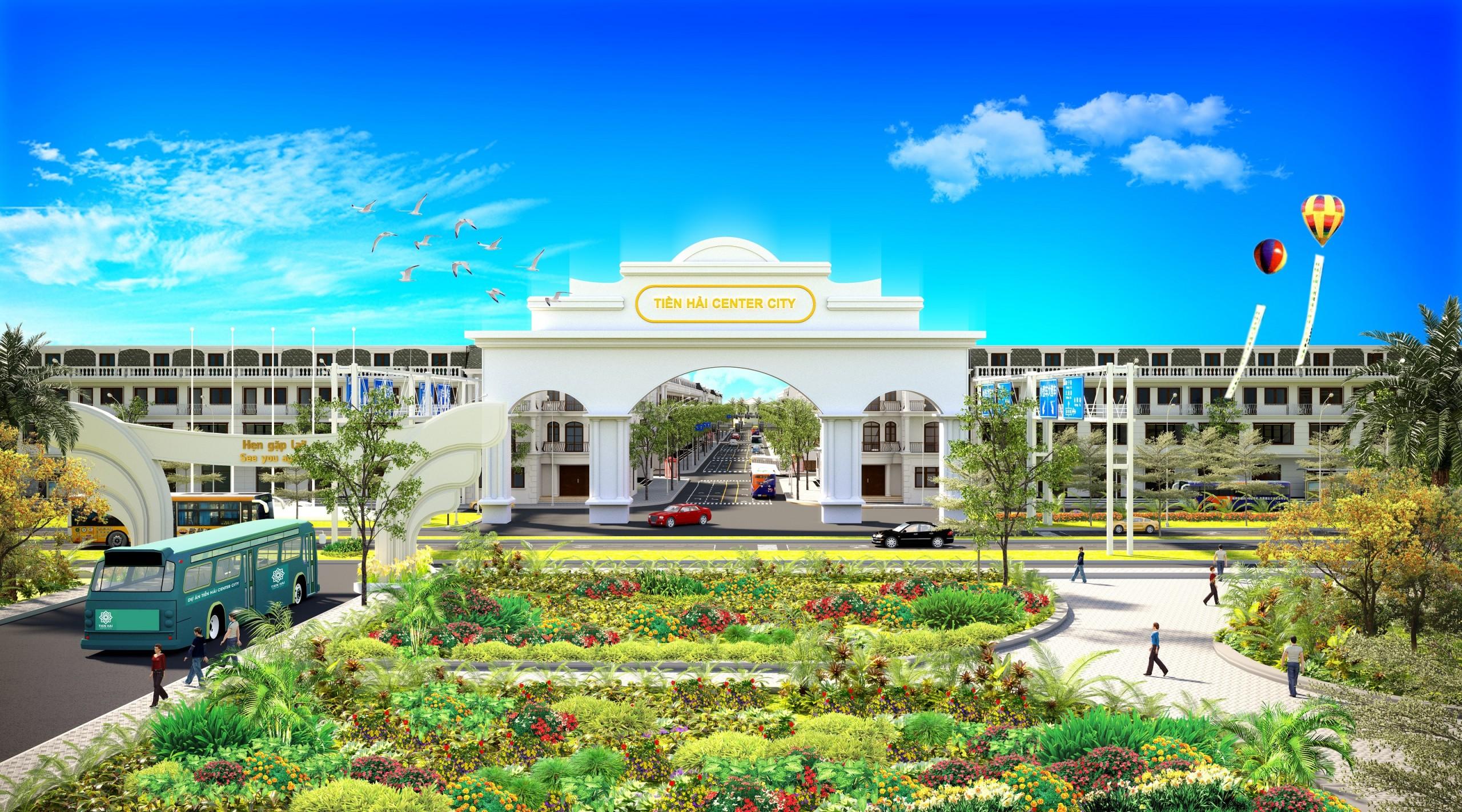Thái Bình: Sắp ra mắt tâm điểm đầu tư bất động sản Tiền Hải Center City