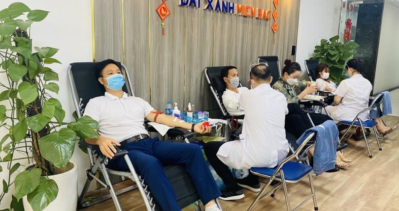Địa ốc Viethomes – Hưởng ứng phong trào hiến máu nhân đạo giữa đại dịch Covid-19